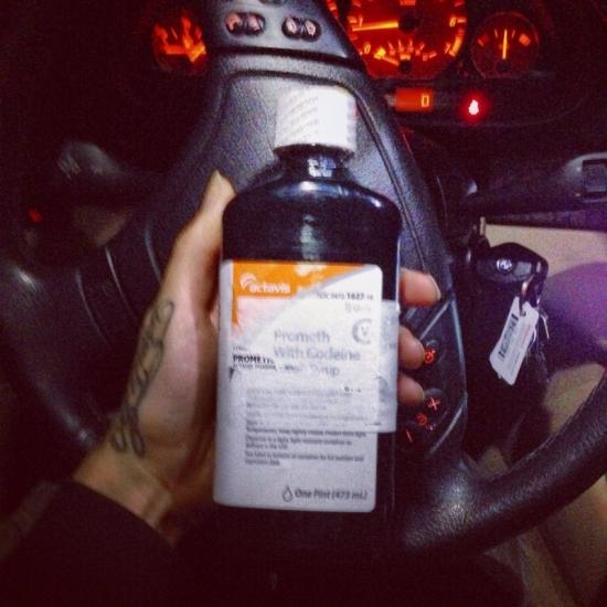 Texas Actavis Promethazine With Codeine Purple Cough Syr Beauty In